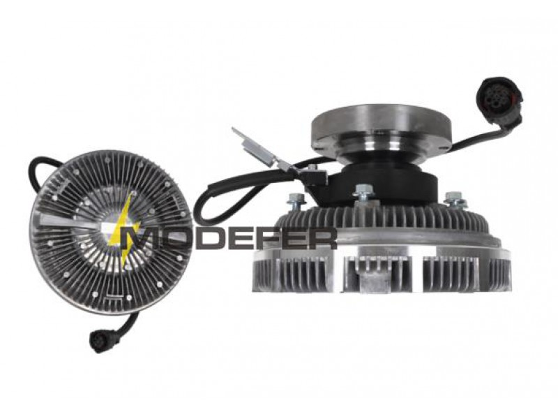 CUBO VISCOSO ELETRÔNICO  FM D12 / FAN CLUTCH /  POLIA VISCOSA / FAN DRIVE / EMBRAGUE VISCOSA